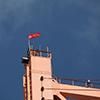 Знамя Победы на высоте 154 метров